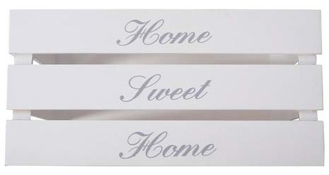 home sweet home crate from dunelm mill