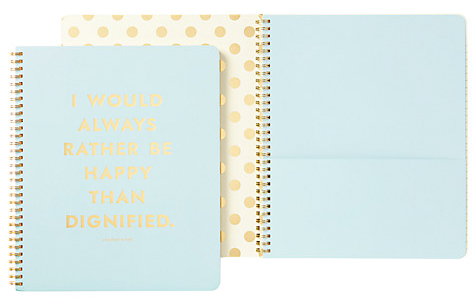 kate spade notebook from john lewis