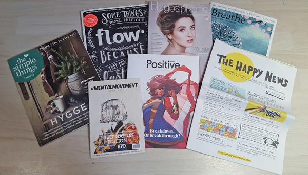 magazines, zines and newspapers I've been loving lately