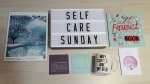 self-care sunday #1