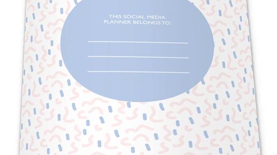 social media planner from la la land
