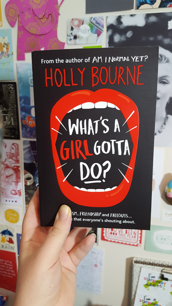 whats a girl gotta do by holly bourne