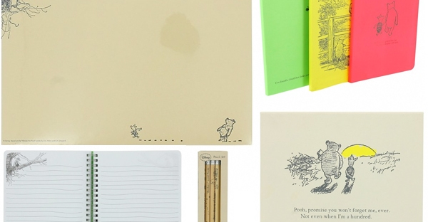 winnie the pooh stationery from truffle shuffle