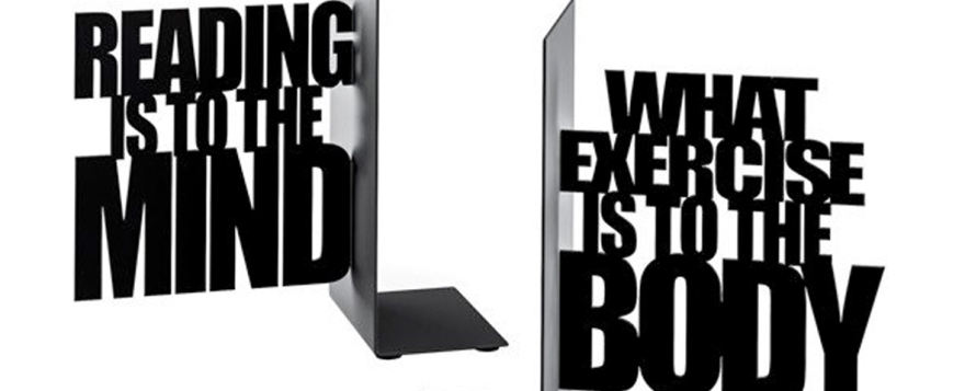 bookends from the literary gift company