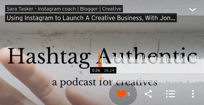 hashtag authentic podcast
