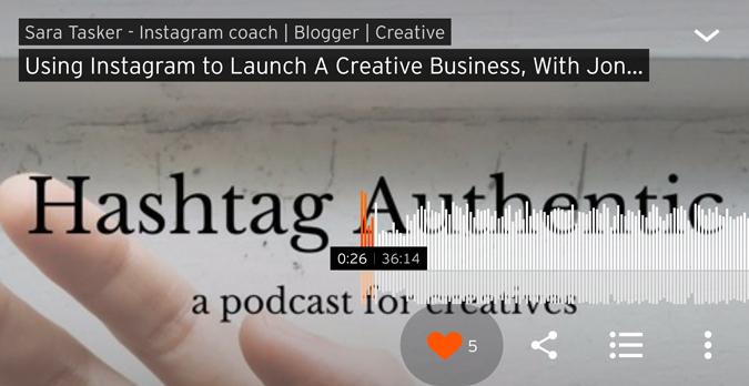 hashtag authentic podcast