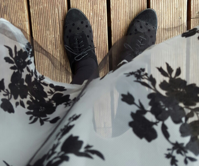 hen do - dress and shoes