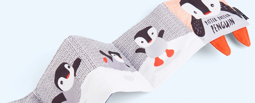 kidly penguin cloth book