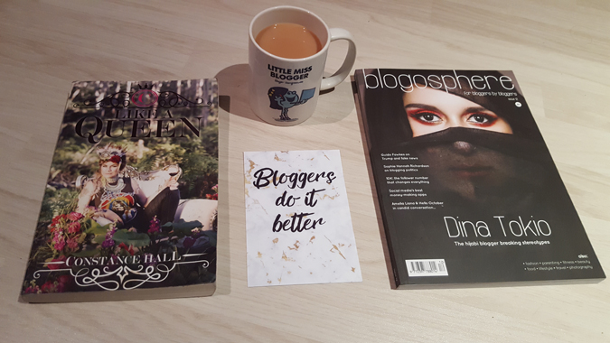like a queen and blogosphere magazine