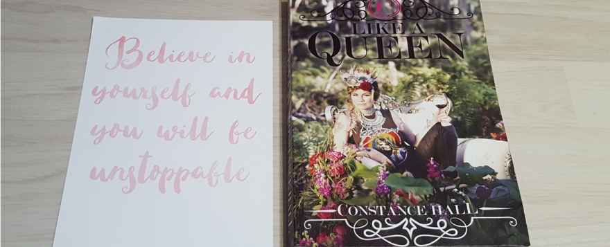 like a queen by constance hall book review