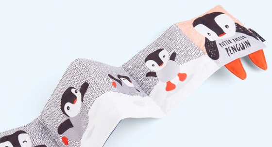 penguin soft cloth book from kidly