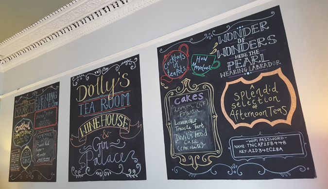 Dolly's Tea Room & Wine Bar, Falmouth