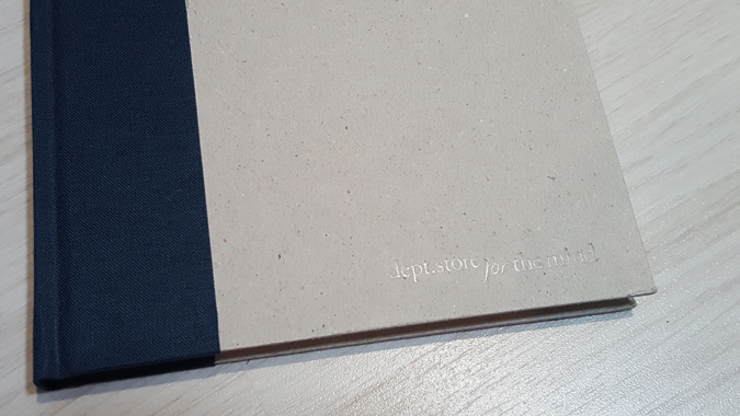 gratitiude journal from Department Store for the Mind