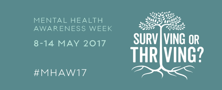 mental health awareness week 2017