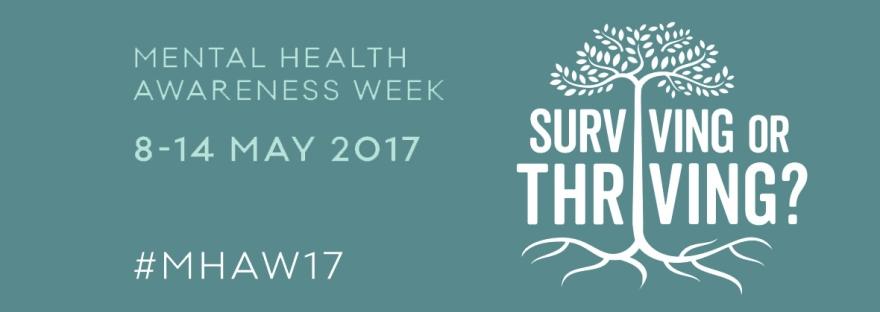 mental health awareness week 2017