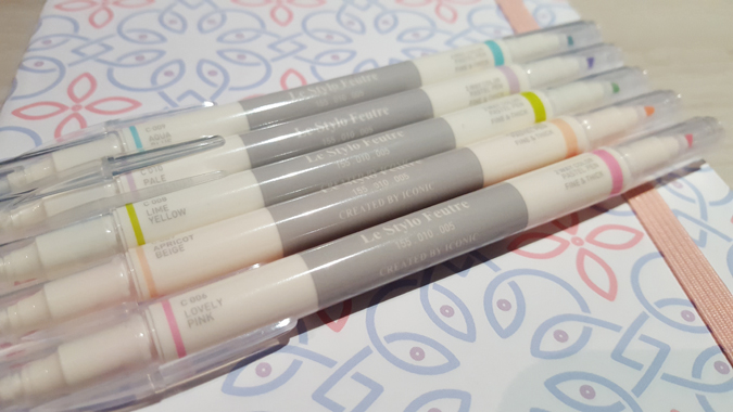 Iconic 2 Way Pastel Pen Set from Fox + Star