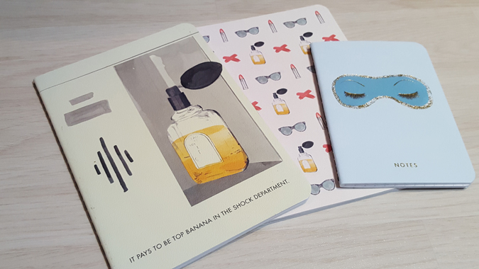 Breakfast at Tiffany's stationery from Abrams and Chronicle