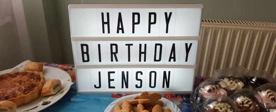 jenson's second birthday