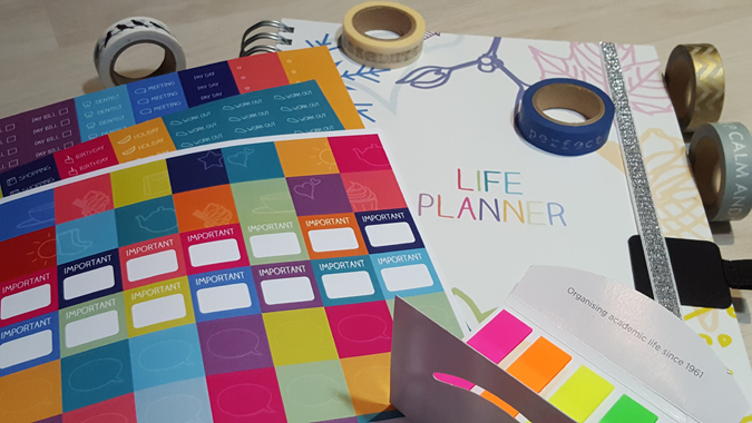 life planner from unique planners by pirongs - review