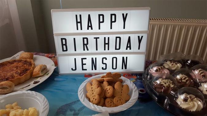 jenson's second birthday