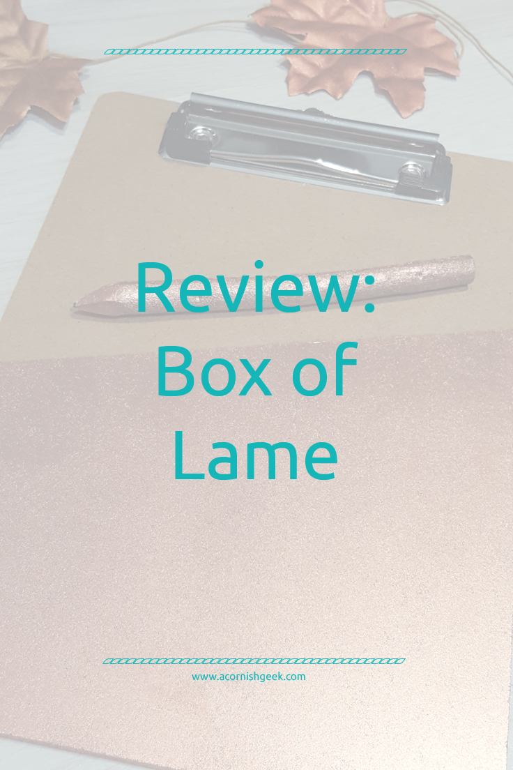 Review: Box of Lame from That Lame Company