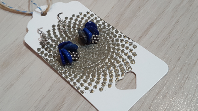 earrings by rebecca brattin