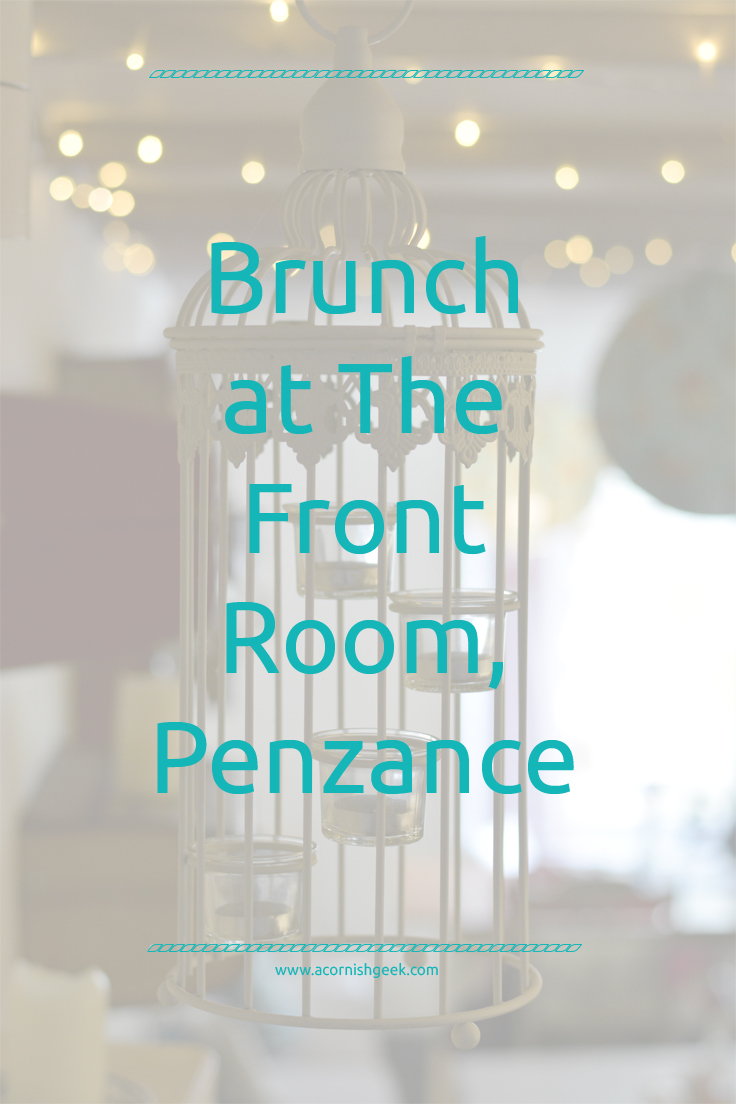 brunch at The Front Room, Penzance