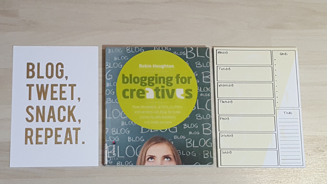blogging for creatives book