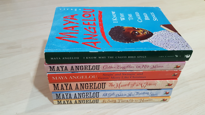 maya angelou autobiography series