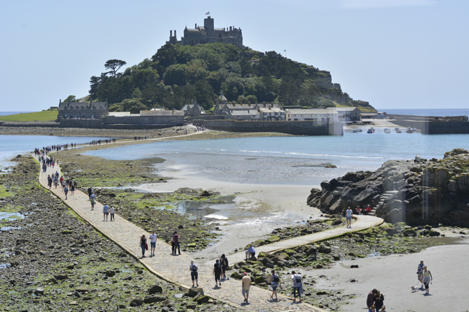 a family day in marazion - the godolphin arms