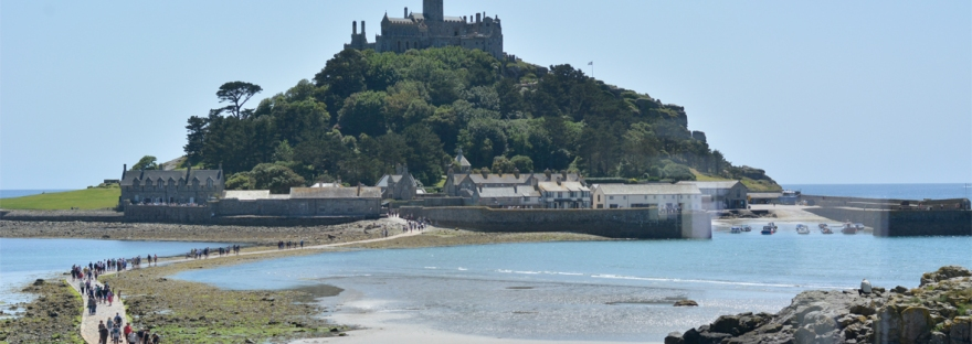a family day in marazion