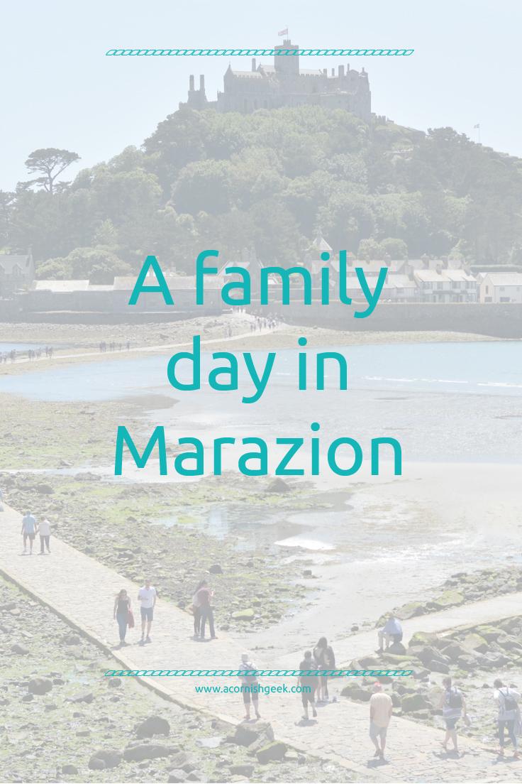 a family day in marazion
