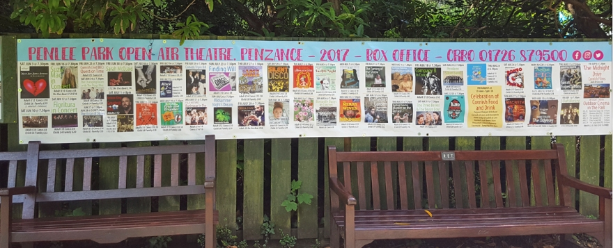 penlee park open air theatre summer 2017