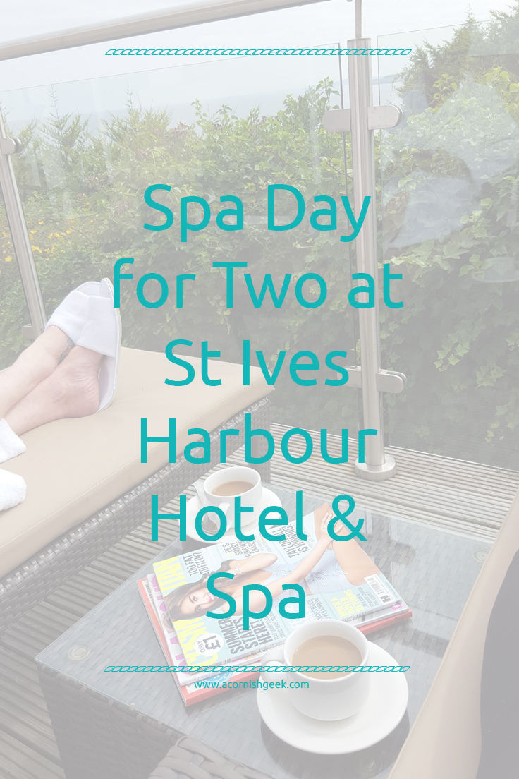 spa day for two at st ives harbour hotel and spa - review and giveaway