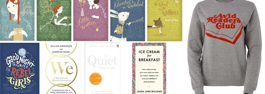 a bookworm's wish list