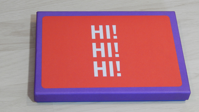 hey there stationery set from Abrams + Chronicle