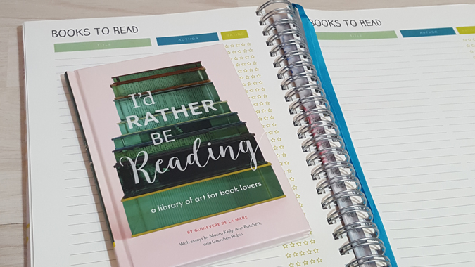 Book review: I'd Rather Be Reading by Guinevere De La Mare