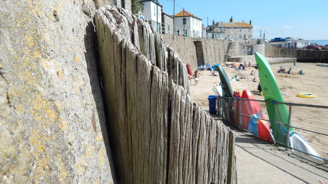 a sunny afternoon in Mousehole, Cornwall