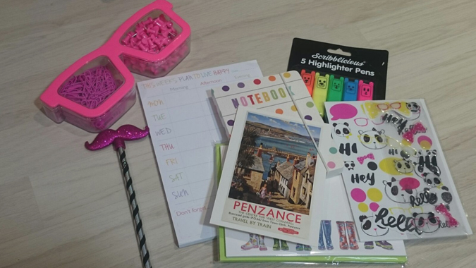 stationery swap the reading residence august 2017