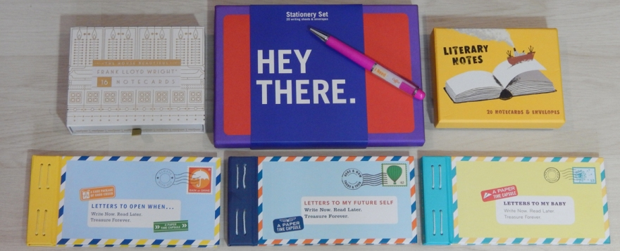 world letter writing day with Abrams + Chronicle