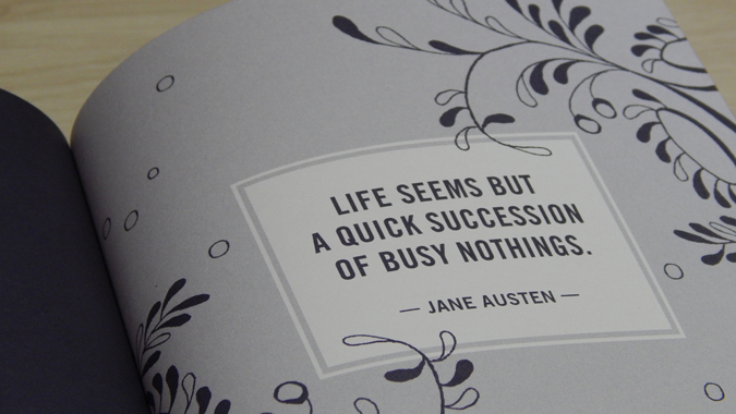 Jane Austen stationery from Abrams + Chronicle
