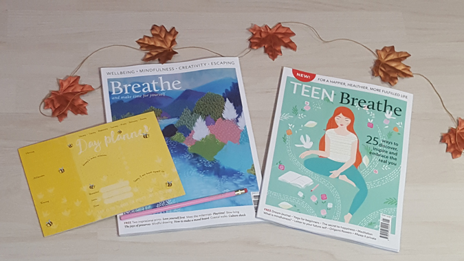 breathe magazine issue 8 and teen breathe issue 1 review