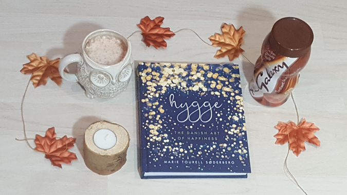 hygge book and accessories