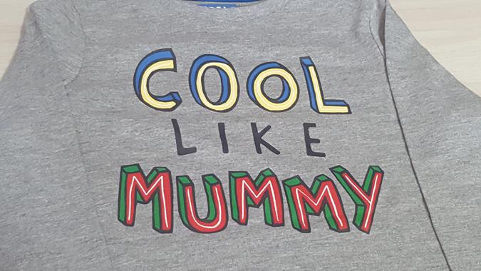 cool like mummy top from Sainsburys
