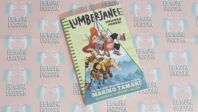 lumberjanes novel from abrams + chronicle