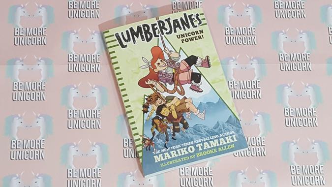 lumberjanes novel from abrams + chronicle