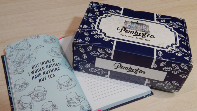 pembertea: jane austen subscription box review
