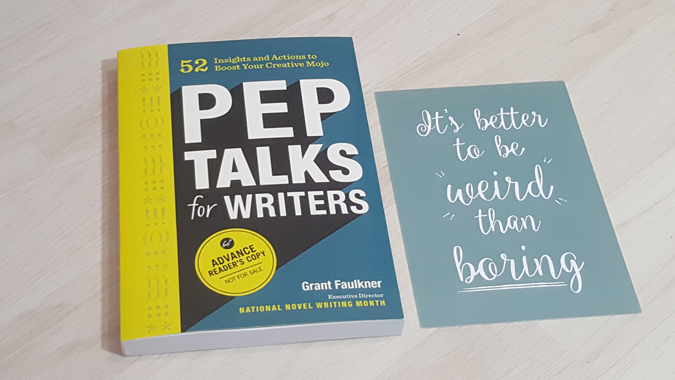 pep talk for writers
