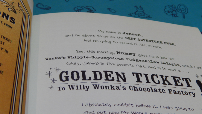 personalised my golden ticket book review