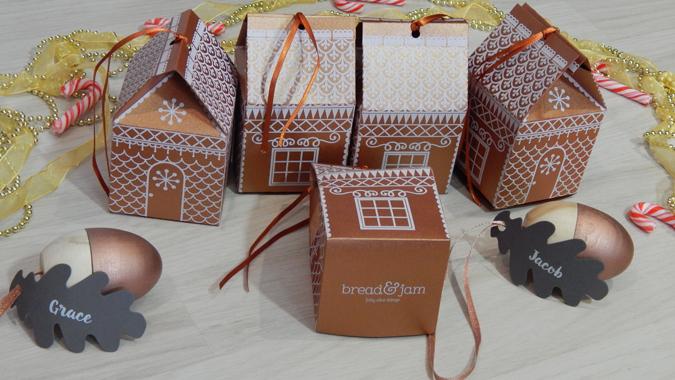 Bread & Jam Christmas decorations